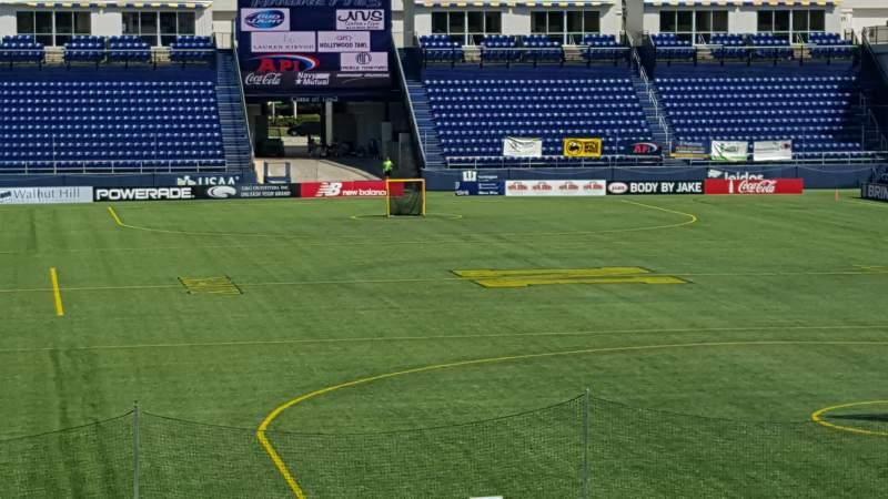 Vistas desde el asiento para Navy-Marine Corps Memorial Stadium Sección C Fila 5 Asiento 35