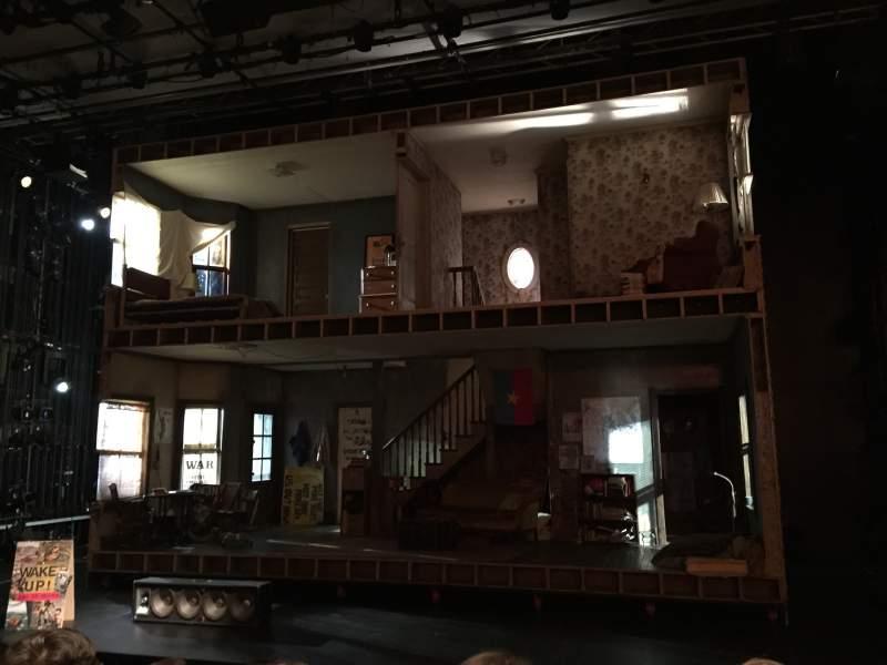 Vistas desde el asiento para Tony Kiser Theatre Sección Orchestra Fila F Asiento 111