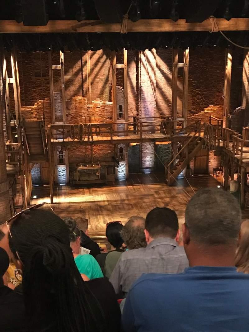 CIBC Theatre, sección: Mezzanine LC, fila: F, asiento: 311