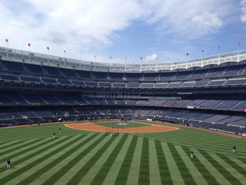 Vistas desde el asiento para Yankee Stadium Sección BES3 Fila 2 Asiento 10