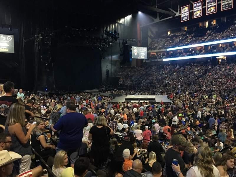 Vistas desde el asiento para Jacksonville Veterans Memorial Arena Sección 113 Fila M Asiento 5