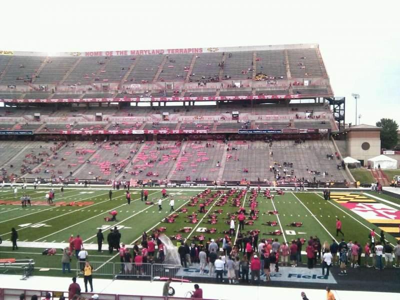 Vistas desde el asiento para Maryland Stadium Sección 27 Fila bb Asiento 22