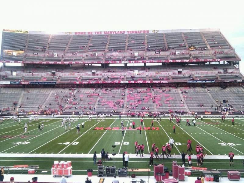 Maryland Stadium, sección: 25, fila: ff, asiento: 14