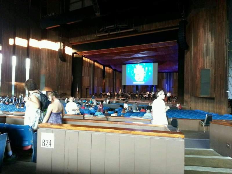 Vistas desde el asiento para The Mann Sección orchestra b Fila b Asiento 40