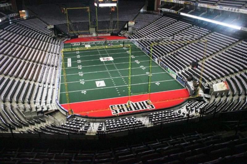 Jacksonville Veterans Memorial Arena, sección: 313, fila: F, asiento: 7