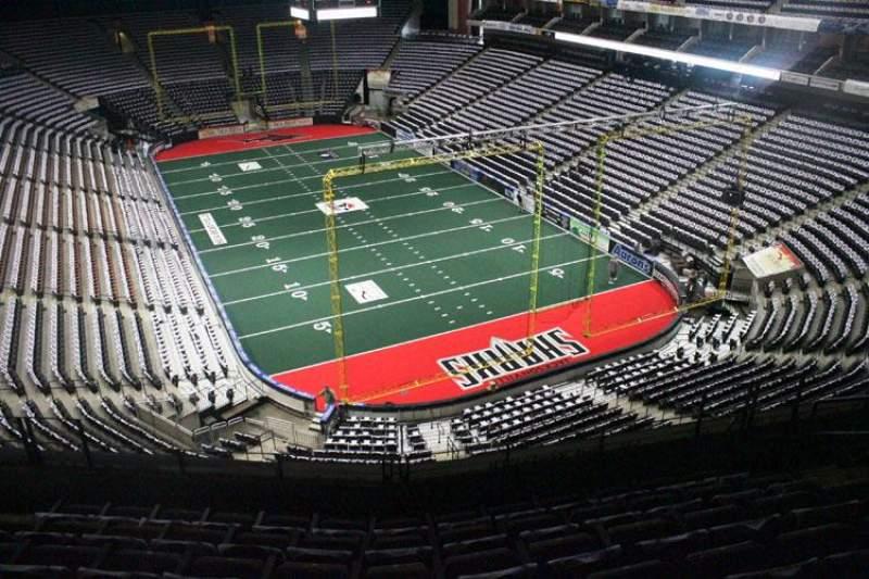 Jacksonville Veterans Memorial Arena, sección: 314, fila: F, asiento: 6