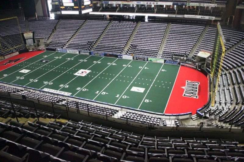 Jacksonville Veterans Memorial Arena, sección: 318, fila: G, asiento: 7