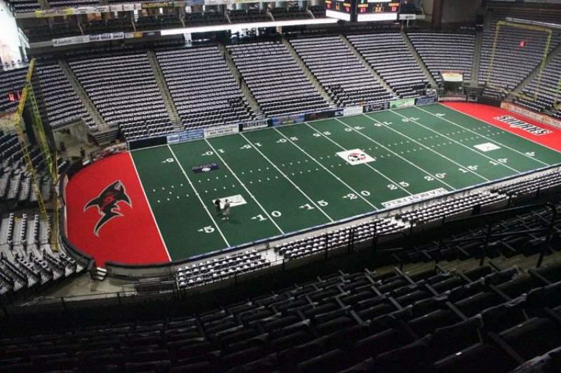 Jacksonville Veterans Memorial Arena, sección: 323, fila: K, asiento: 9