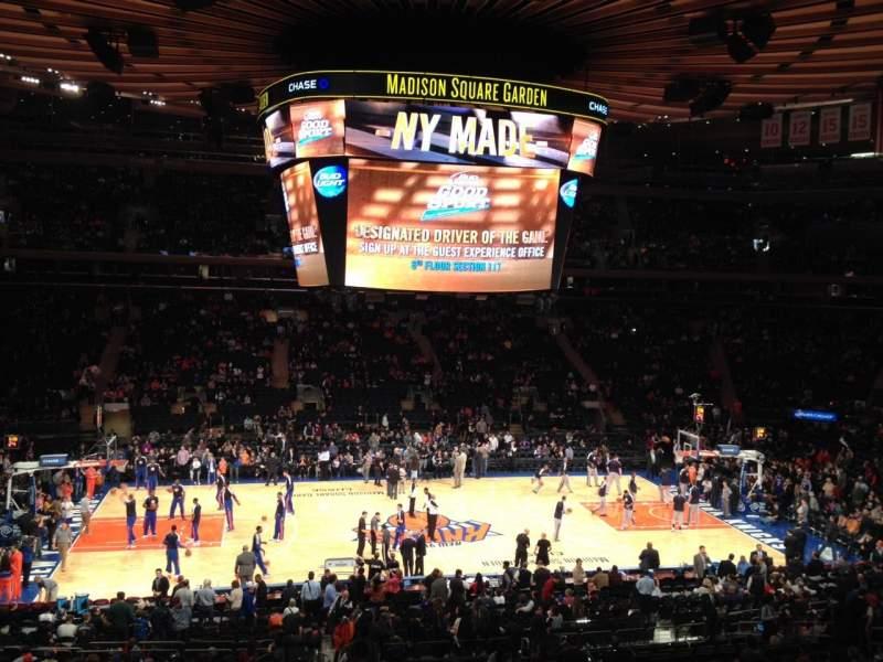 Vistas desde el asiento para Madison Square Garden Sección Suite 45 Asiento 5