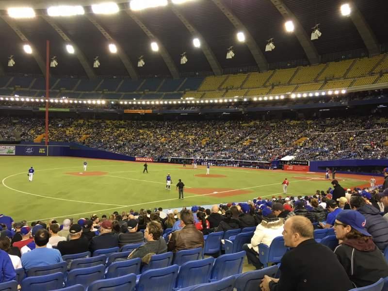 Vistas desde el asiento para Olympic Stadium, Montreal Sección 120 Fila SS Asiento 6
