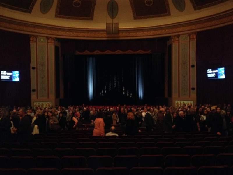 Vistas desde el asiento para Strand-Capitol Performing Arts Center Sección orchestra center Fila Cc Asiento 104
