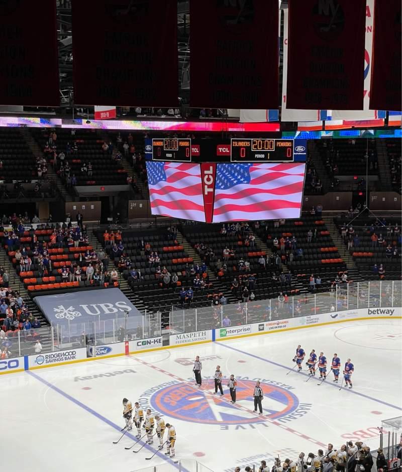 Vistas desde el asiento para Nassau Veterans Memorial Coliseum Sección 226 Fila 9 Asiento 8