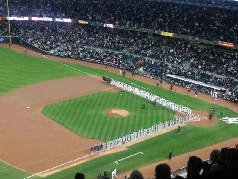 Yankee Stadium, sección: 428, fila: 7, asiento: 1