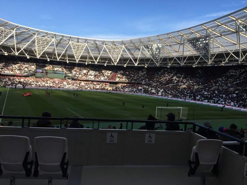 Vistas desde el asiento para London Stadium Sección 17 Fila 26