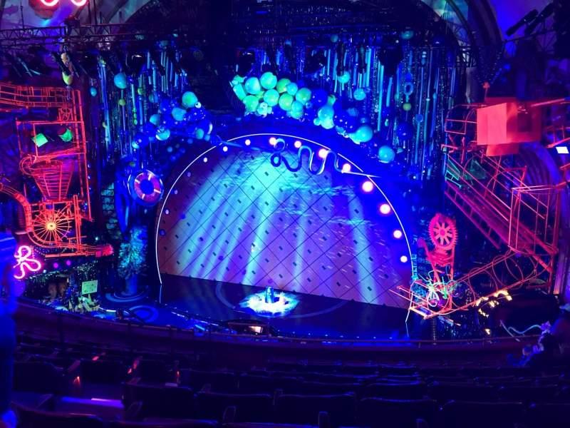 Vistas desde el asiento para Palace Theatre (Broadway) Sección MEZZC Fila J Asiento 126 And 12