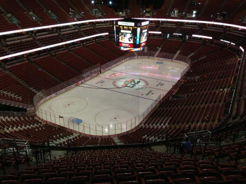Honda Center, sección: 419, fila: T, asiento: 9