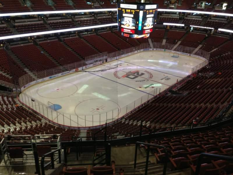 Honda Center, sección: 418, fila: L, asiento: 2