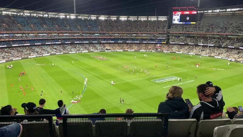 Vistas desde el asiento para Melbourne Cricket Ground Sección Q52 Fila C Asiento 19