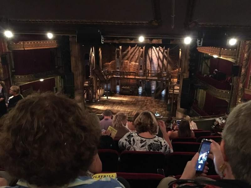 CIBC Theatre, sección: Mezzanine LC, fila: L, asiento: 16