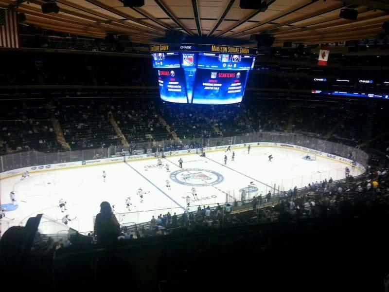 Vistas desde el asiento para Madison Square Garden Sección 223 Fila 9 Asiento 3