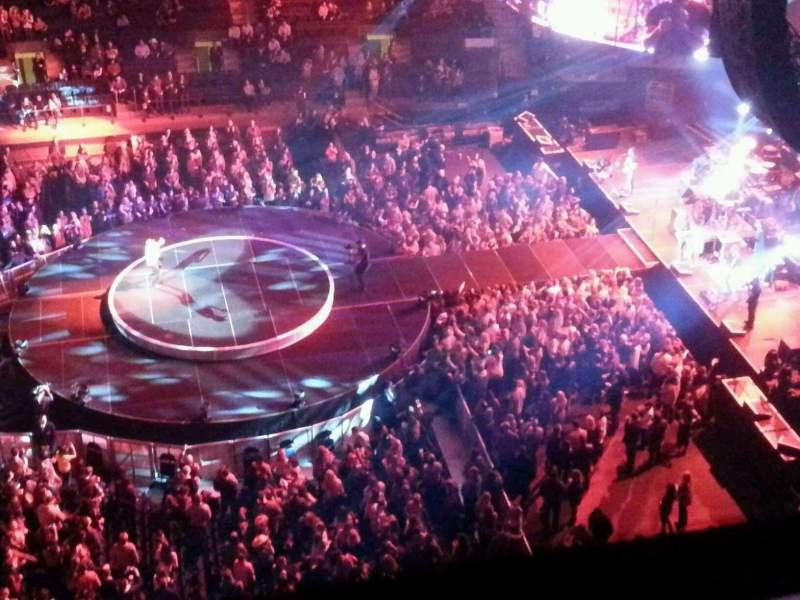 Vistas desde el asiento para Madison Square Garden Sección 313 Fila 1 Asiento 13