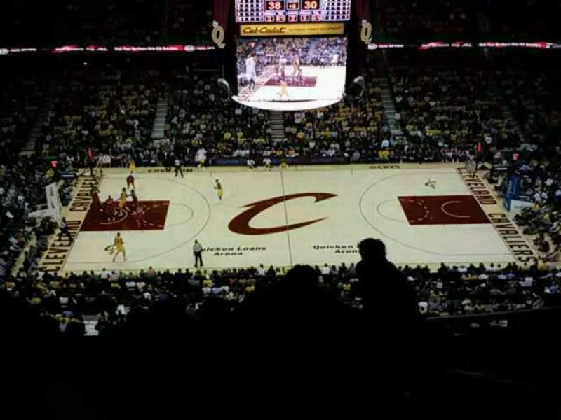 Vistas desde el asiento para Quicken Loans Arena