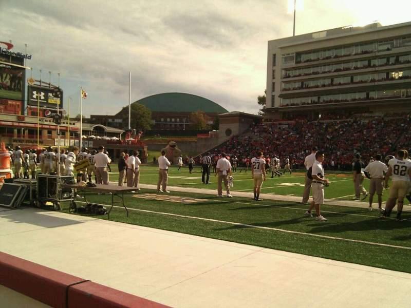 Maryland Stadium, sección: 6, fila: a, asiento: 16