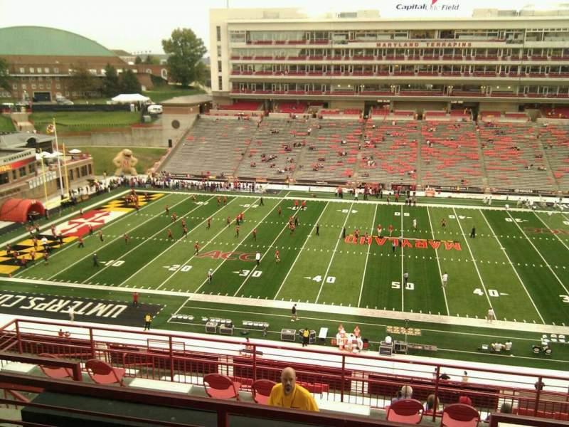 Maryland Stadium, sección: 206, fila: o, asiento: 14