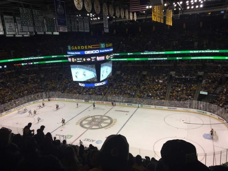 TD Garden, sección: Bal 329, fila: 10, asiento: 5