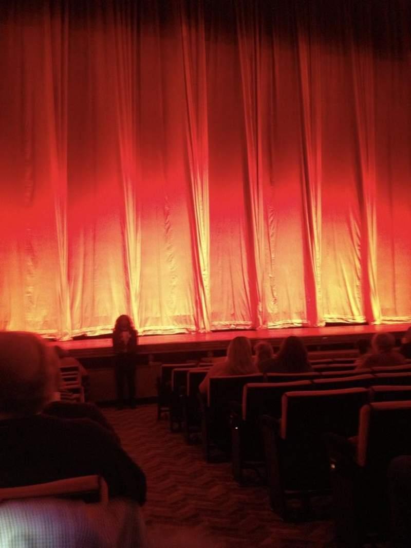 Radio City Music Hall, sección: Orchestra 5, fila: LL, asiento: 501