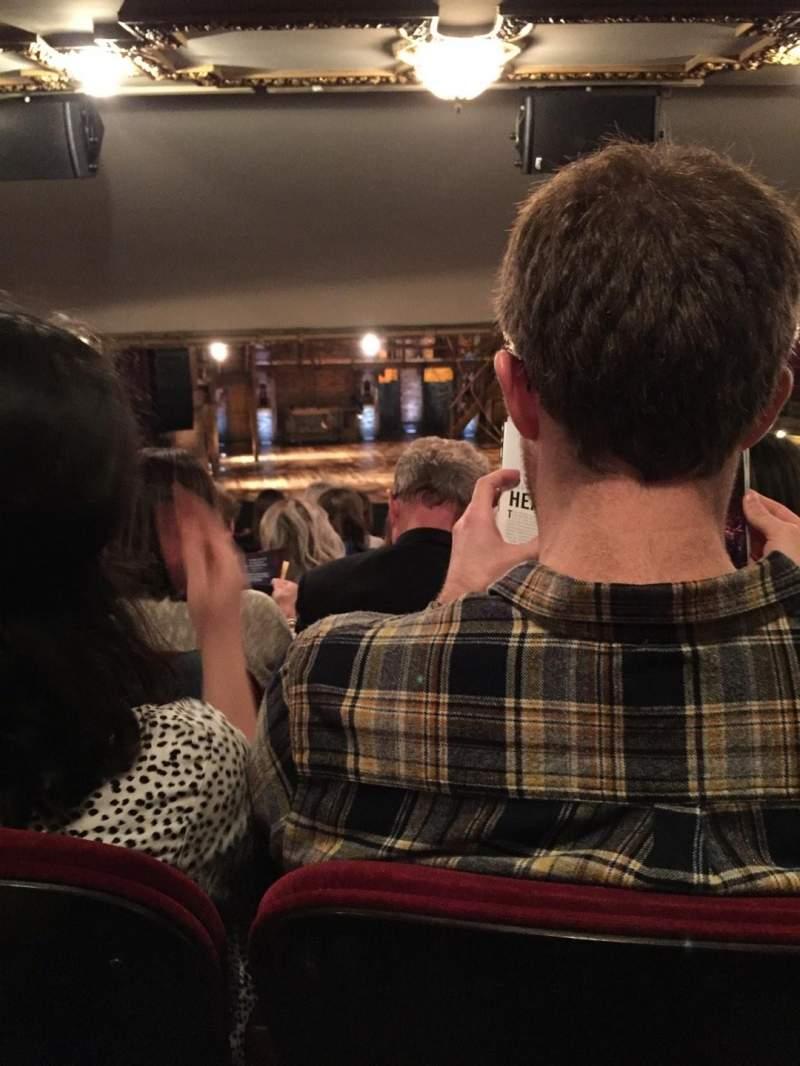 Vistas desde el asiento para CIBC Theatre Sección Dress Circle LC Fila G Asiento 225