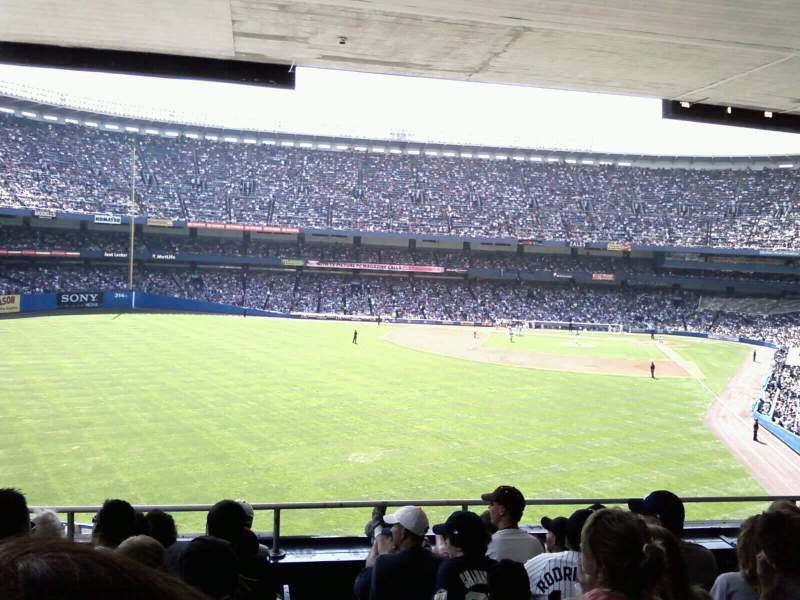 Vistas desde el asiento para Old Yankee Stadium Sección loge