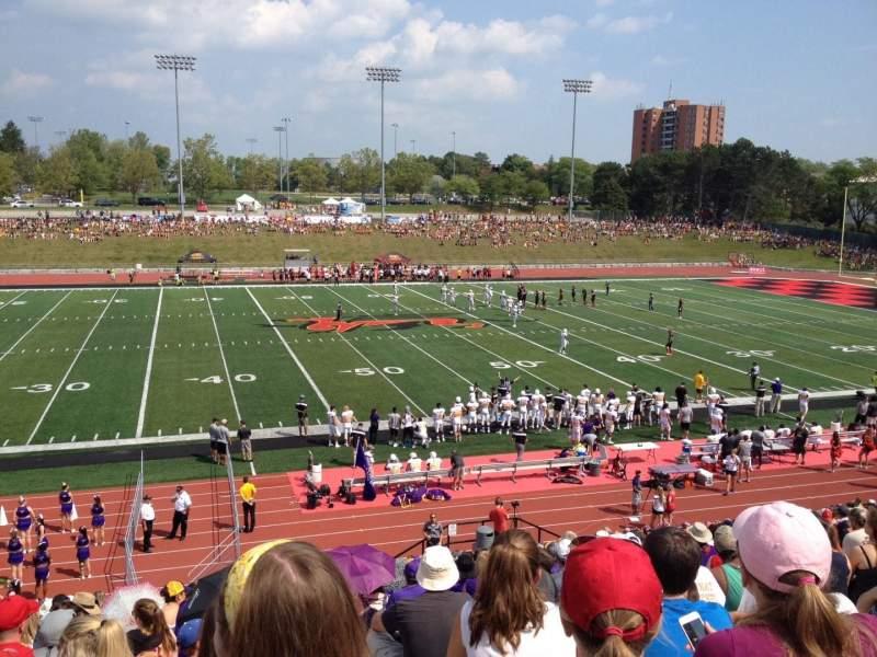 Vistas desde el asiento para Alumni Stadium (Guelph) Sección GA