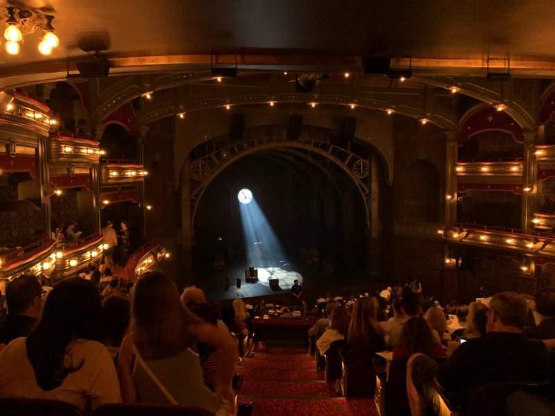 Vistas desde el asiento para Lyric Theatre Sección Dress Circle L Fila K Asiento 1