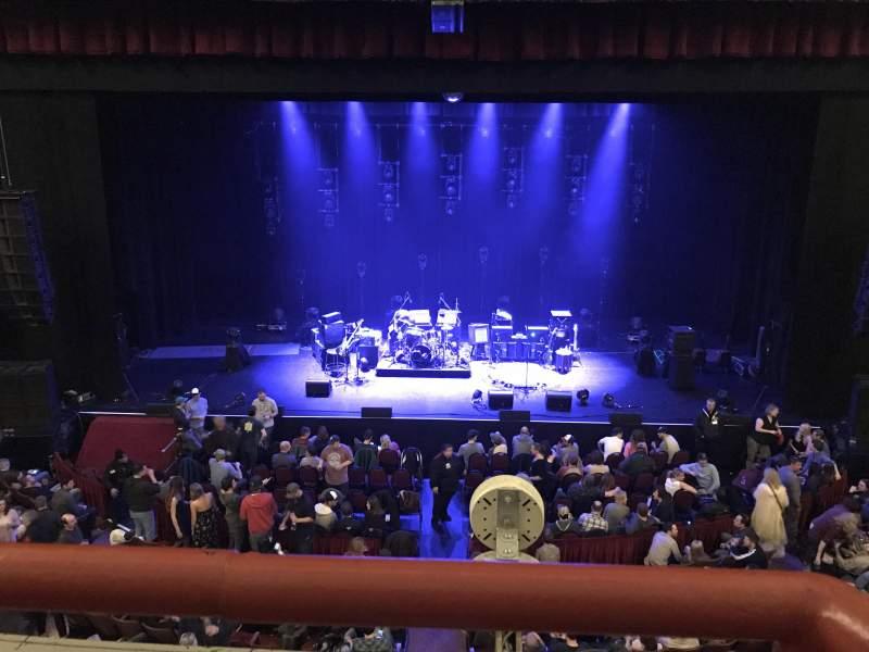 Vistas desde el asiento para Chicago Theatre Sección Loge4 Fila AA Asiento 405