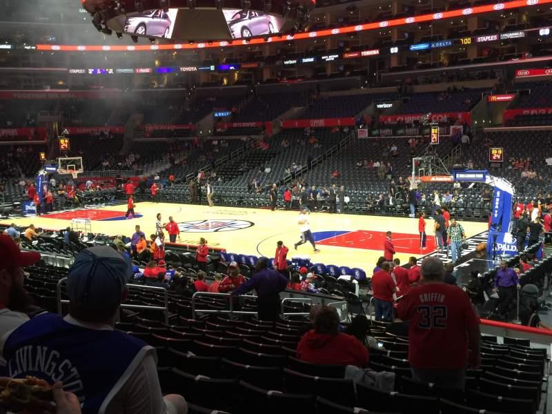 Staples Center, sección: 118, fila: 17, asiento: 1