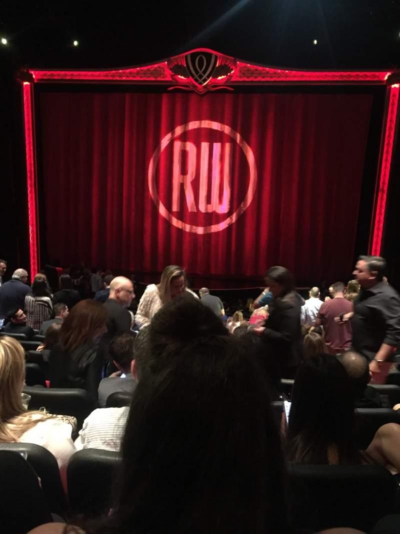 Vistas desde el asiento para Encore Theatre At Wynn Sección Center Orchestra Fila T Asiento 107