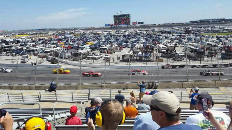 Vistas desde el asiento para Texas Motor Speedway Sección 137 Fila 25 Asiento 3