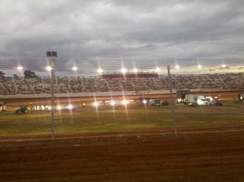 Vistas desde el asiento para Dirt Track At Charlotte