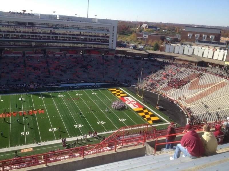 Maryland Stadium, sección: 306, fila: R, asiento: 12