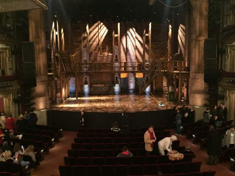 Vistas desde el asiento para CIBC Theatre Sección Dress Circle C Fila A Asiento 204