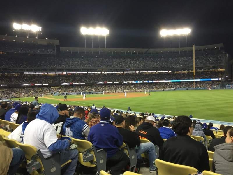 Vistas desde el asiento para Dodger Stadium Sección 46fd Fila N Asiento 3