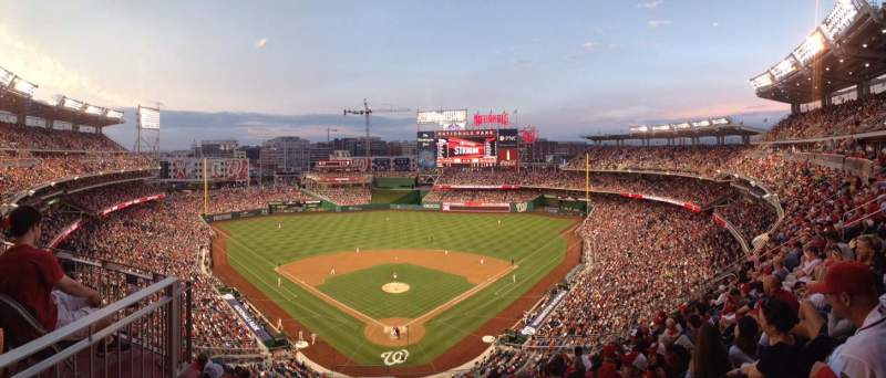 Nationals Park, sección: 314