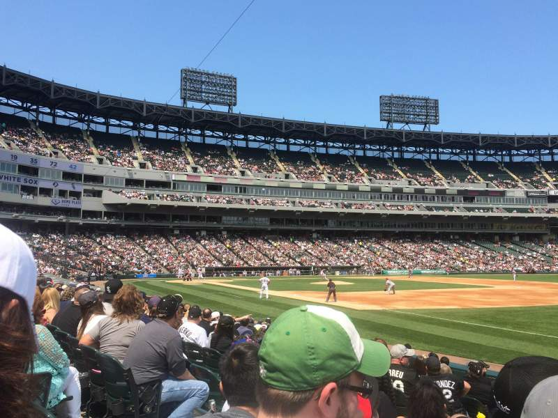 Guaranteed Rate Field, sección: 117, fila: 11, asiento: 4