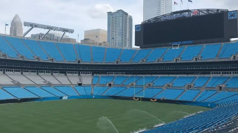 Bank of America Stadium, sección: 349, fila: 8, asiento: 2