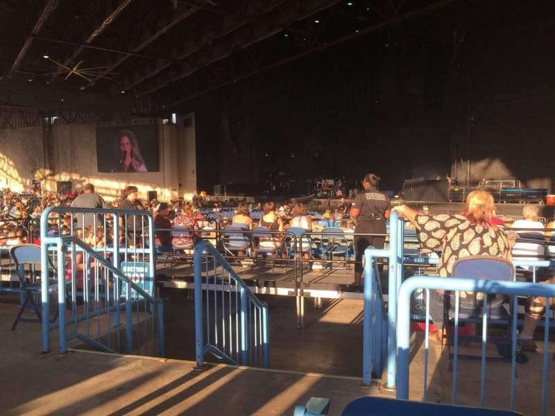 Vistas desde el asiento para Starplex Pavilion Sección 200 Fila EE Asiento 24