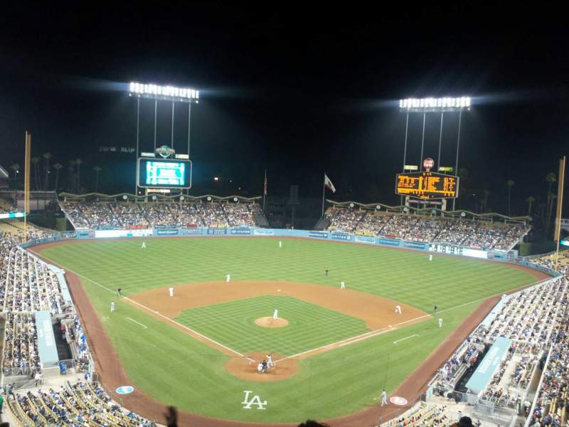 Vistas desde el asiento para Dodger Stadium