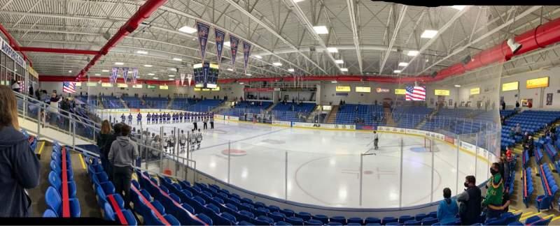 Vistas desde el asiento para USA Hockey Arena Sección 101 Fila J Asiento 10