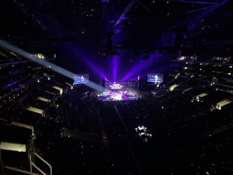 Vistas desde el asiento para Staples Center Sección 311 Fila 7 Asiento 19
