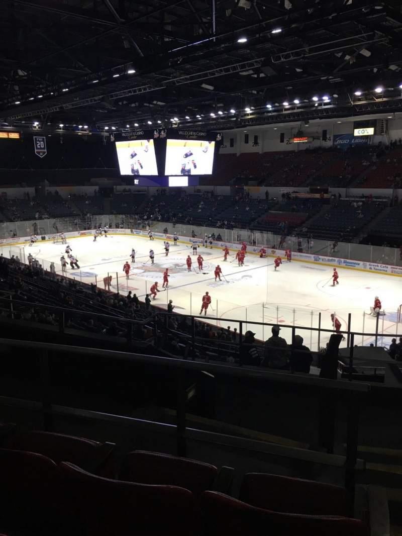 Vistas desde el asiento para Pechanga Arena Sección T10A Fila 8 Asiento 1